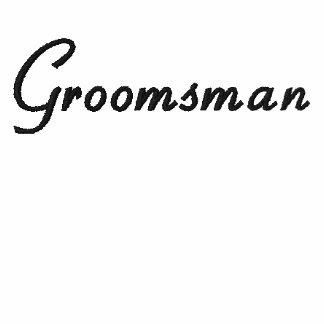 Embroidered Groomsman Wedding Apparel Embroidered Shirts