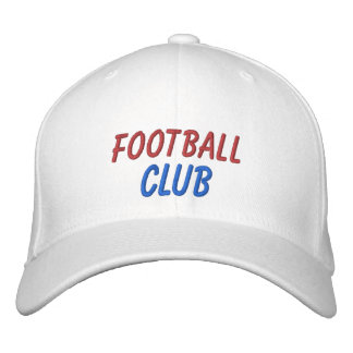 Embroidered Hat Football Club Embroidered Hat