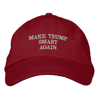 EMBROIDERED HAT MAKE TRUMP SMART AGAIN