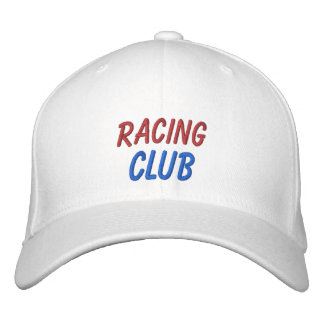 Embroidered Hat Racing Club Embroidered Hat