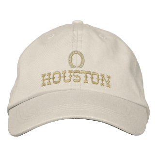 Embroidered Houston Texas Cap