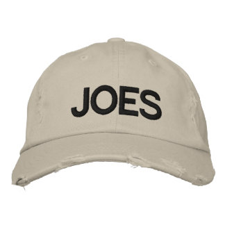 Embroidered JOES Cap