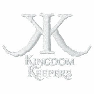 Embroidered Kingdom Keepers Polo-White KK Logo Polo Shirt