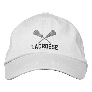Embroidered Lacrosse Cap Embroidered Hat