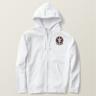 Embroidered Lance Missile Sweats Embroidered Hoodie