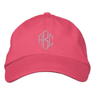 Embroidered Monogram Wedding Team Hat Embroidered Baseball Caps