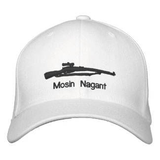 Embroidered Mosin Nagant Fitted Hat Embroidered Hat
