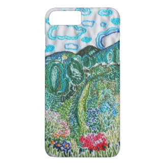 embroidered nature iPhone 8 plus/7 plus case