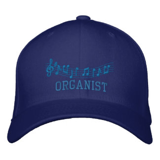 Embroidered Organist Hat Embroidered Baseball Cap