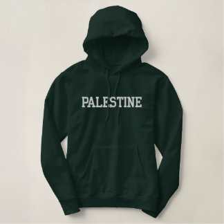Embroidered Palestine Hoodie