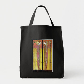 Embroidered Panels by Margaret Macdonald Grocery Tote Bag