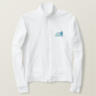 Embroidered Sail Caribbean Fleece Jacket