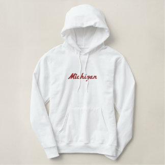 """Embroidered State name """"Add your State"""" Embroidered Hoodie"""
