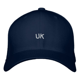 Embroidered UK Hat Embroidered Baseball Cap