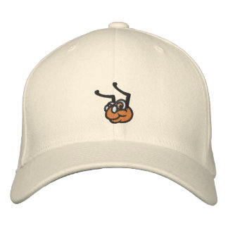 Embroidered Wool WyzAnt Flex Fit Hat - Natural Embroidered Hats