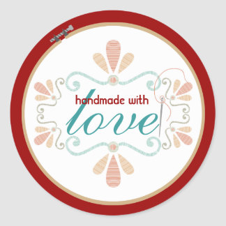 embroidery hoop decorative stitching sewing label