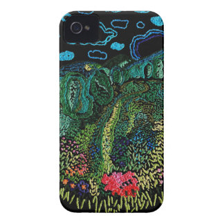 Embroidery iPhone 4 Case-Mate Case