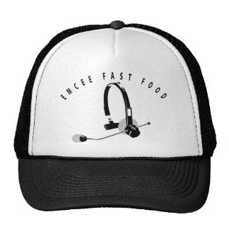 EMCEE FAST FOOD TRUCKER HAT