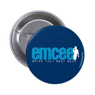 Emcee (MC) - Blue 2 Inch Round Button
