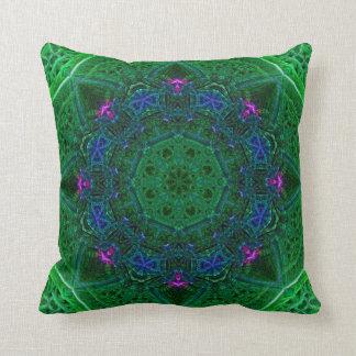 Emerald Amethyst Sapphire Dome Pillow