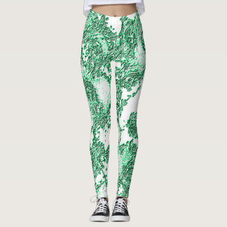 Emerald Angelic Leggings