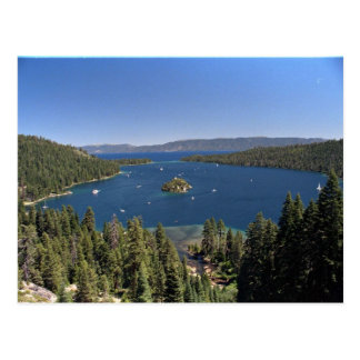 Emerald Bay, Lake Tahoe, California, USA Postcard