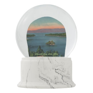 Emerald Bay, Lake Tahoe Snow Globe