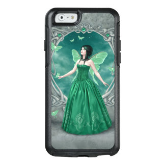 Emerald Birthstone Green Butterfly Fairy OtterBox iPhone 6/6s Case