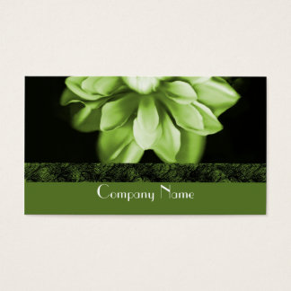 Emerald Bloom Business Card