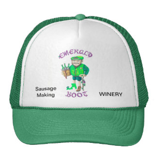 EMERALD BOOT HAT