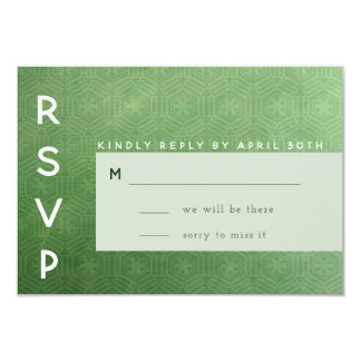 Emerald City RSVP Card