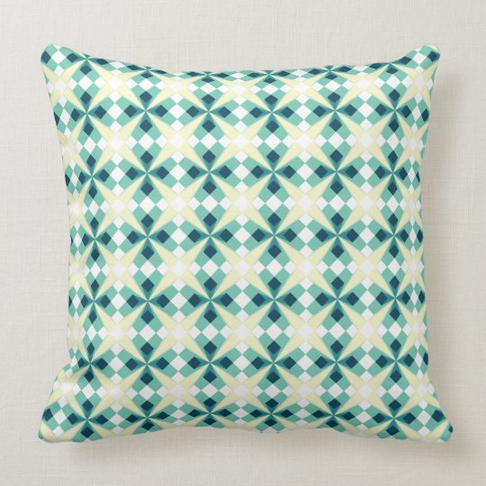 Emerald Crossing Throw Pillow