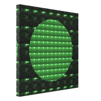 Emerald CRYSTAL Chakra STARS : TEMPLE WALL ART
