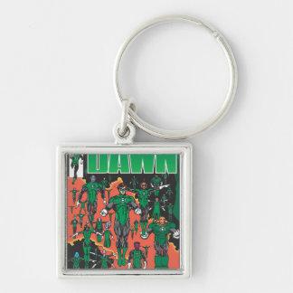 Emerald Dawn Cover Key Chain