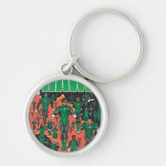 Emerald Dawn Cover Keychain
