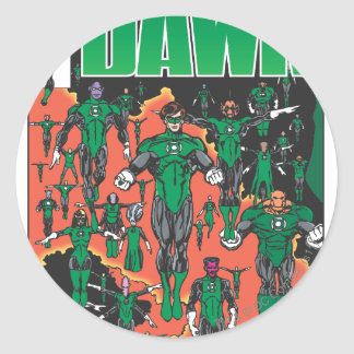 Emerald Dawn Cover Stickers