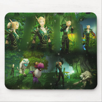 Emerald Dream Basic Mouse Pad