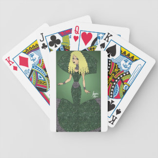 Emerald Empress Bicycle Playing Cards