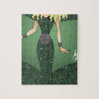 Emerald Empress Jigsaw Puzzle