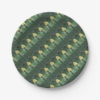Emerald Empress Paper Plate