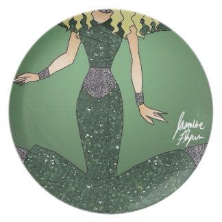 Emerald Empress Plate