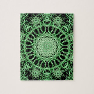 Emerald Eye Mandala Puzzle