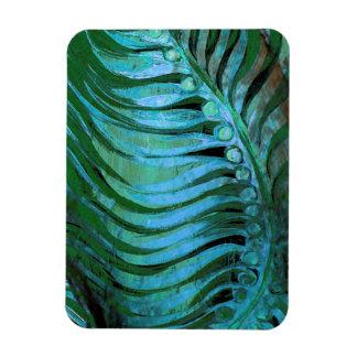 Emerald Feathering II Rectangular Photo Magnet