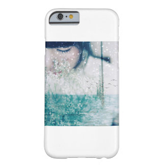 Emerald Girl Green White Shining Ocean Barely There iPhone 6 Case