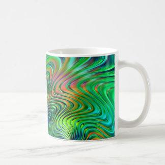 Emerald Green  Abstract Coffee Mug