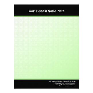 Emerald Green Business Letterhead