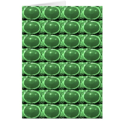 Emerald GREEN Crystal STONE Energy GIFTS lowprice Card