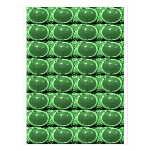 Emerald GREEN Crystal STONE Energy GIFTS lowprice Post Cards