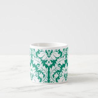 Emerald Green Damask