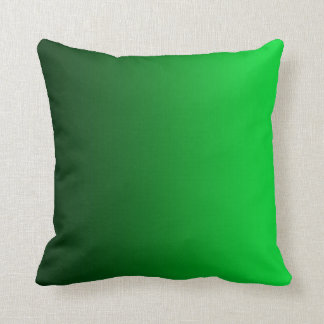 Emerald Green Fade Modern Square Pillow